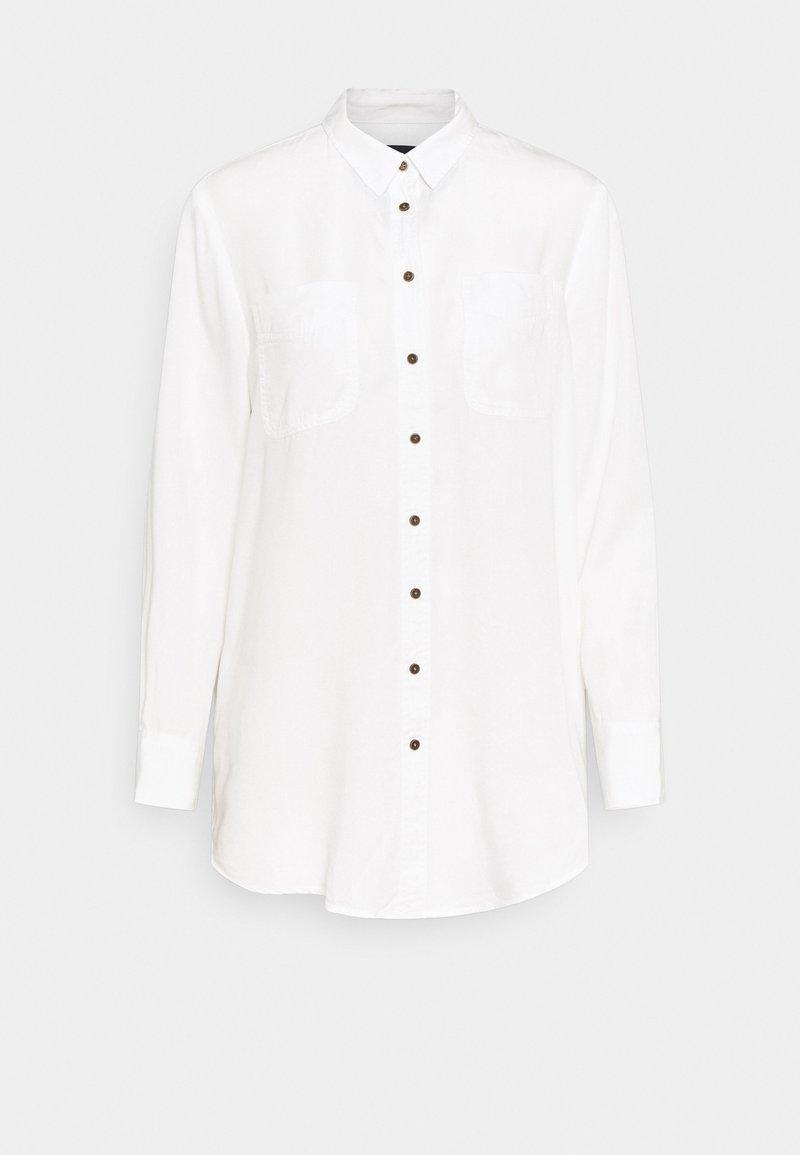 Marks & Spencer London - RELAXED - Košile - off-white
