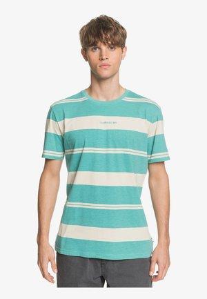 MAXED HERO - Print T-shirt - blue