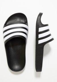 adidas Performance - ADILETTE AQUA - Pool slides - core black - 0