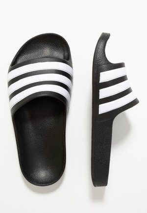 ADILETTE AQUA - Pool slides - core black
