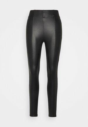 DESIGN - Leggings - Trousers - black