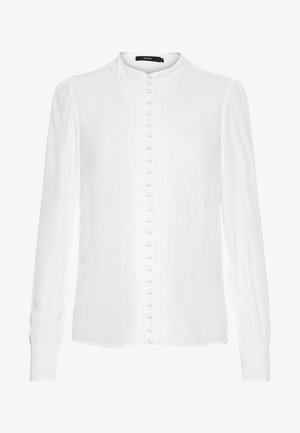 JAPANISCHER - Button-down blouse - bright white