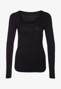 Curare Yogawear - Topper langermet - black - 4