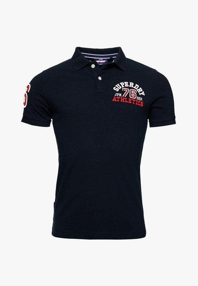 CLASSIC SUPERSTATE - Polo - eclipse navy