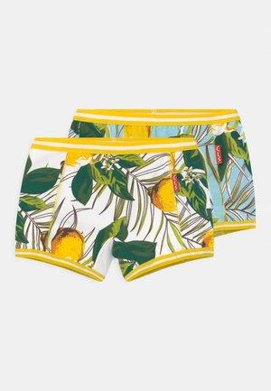 GIRLS 2 PACK - Pants - lemon