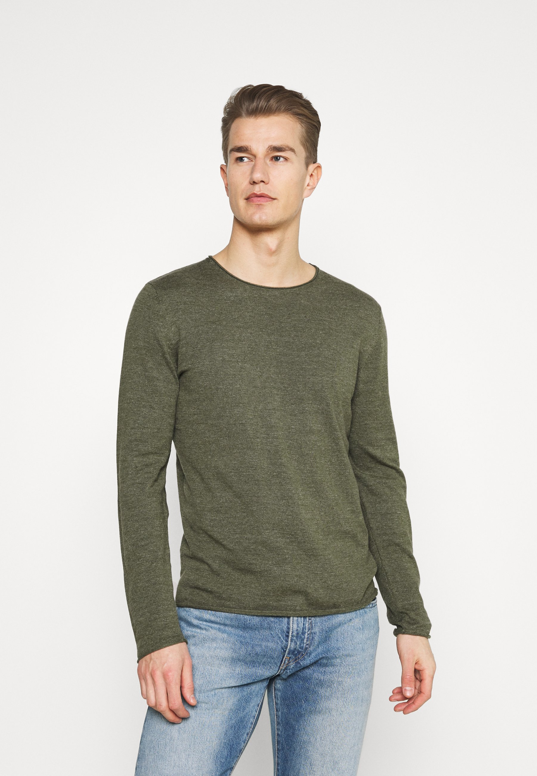 Homme SLHDOME CREW NECK - Pullover