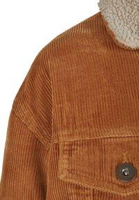 Urban Classics Curvy - Light jacket - toffee/beige - 4