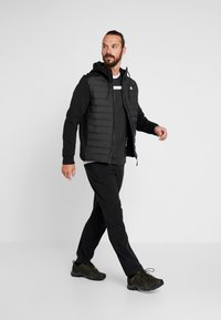 adidas Performance - VARILITE HYBRID DOWN JACKET - Talvitakki - black - 1