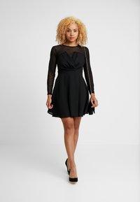 TFNC Petite - VIRGIN DRESS - Cocktail dress / Party dress - black - 2