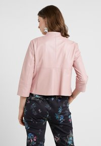 MAX&Co. - DENOTARE - Leather jacket - pink - 2