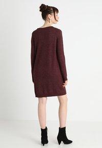 Vila - Jumper dress - winetasting/melange - 3