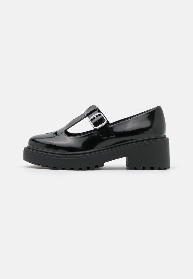 TBAR CHUNKY - Platform heels - black box