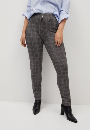 SHARON - Leggings - Trousers - grey