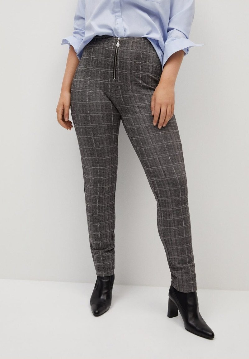 Violeta by Mango - SHARON - Leggings - Trousers - grey