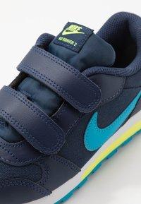Nike Sportswear - MD RUNNER 2 BPV - Trainers - midnight navy/laser blue/lemon/white - 2