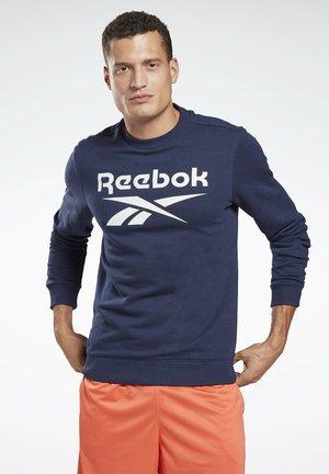 VECTOR BIG LOGO GRAPHIC SWEATSHIRT - Sweatshirt - blue