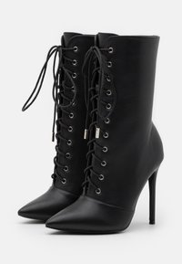 Glamorous - High heeled ankle boots - black - 2