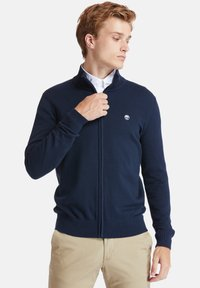 Timberland - WILLIAMS RIVER FULL ZIP - Cardigan - dark sapphire - 0