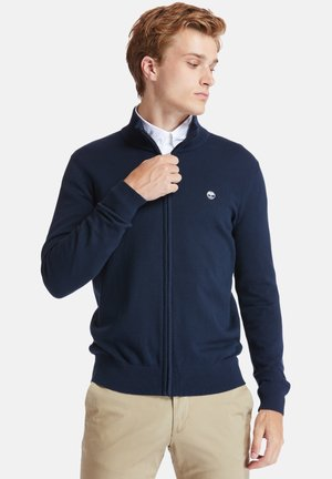 WILLIAMS RIVER FULL ZIP - Cardigan - dark sapphire
