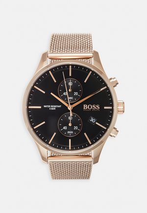 ASSOCIATE - Chronograph watch - rose gold-coloured