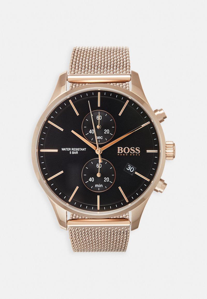 BOSS - ASSOCIATE - Chronograph watch - rose gold-coloured