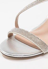 Call it Spring - AZARIA - Sandaler med høye hæler - silver - 2