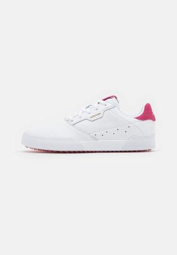 ADICROSS RETRO - Golf shoes - footwear rwhite/wild pink