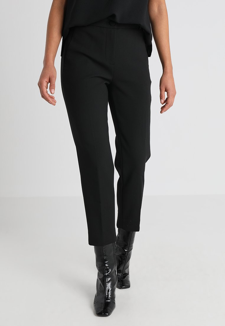 J.CREW PETITE - CAMERON SEASONLESS STRETCH - Trousers - black