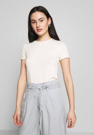 SHORT SLEEVE - Basic T-shirt - antique white