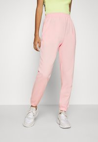 Missguided - BASIC JOGGERS 2 PACK - Tracksuit bottoms - pink/grey - 2