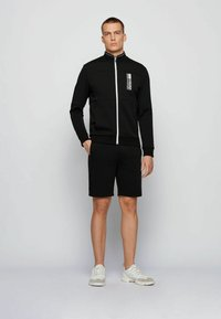 BOSS - SKAZ  - Zip-up hoodie - black - 1
