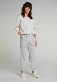 Oui - Trousers - light grey - 1
