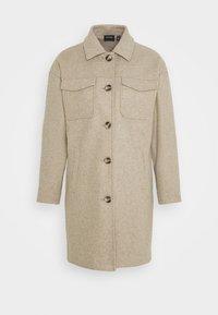 Vero Moda - VMBONUSRAY  - Classic coat - silver mink melange - 4