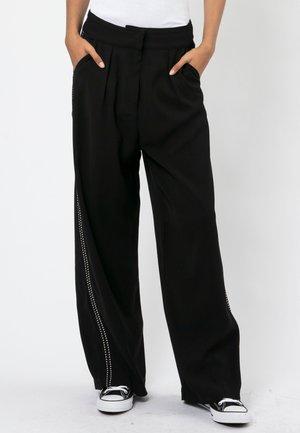 JOURNEY  - Trousers - jet black
