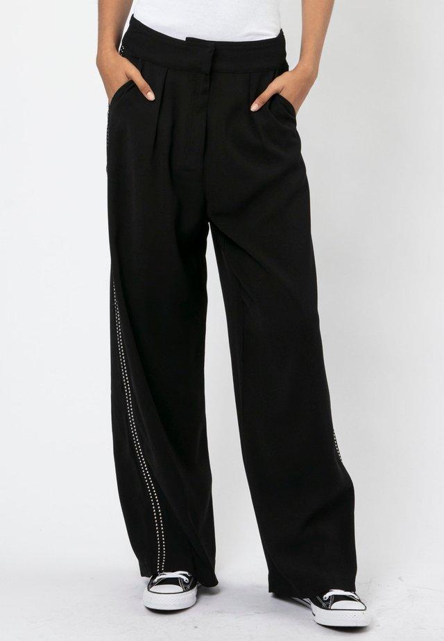 JOURNEY  - Pantalon classique - jet black