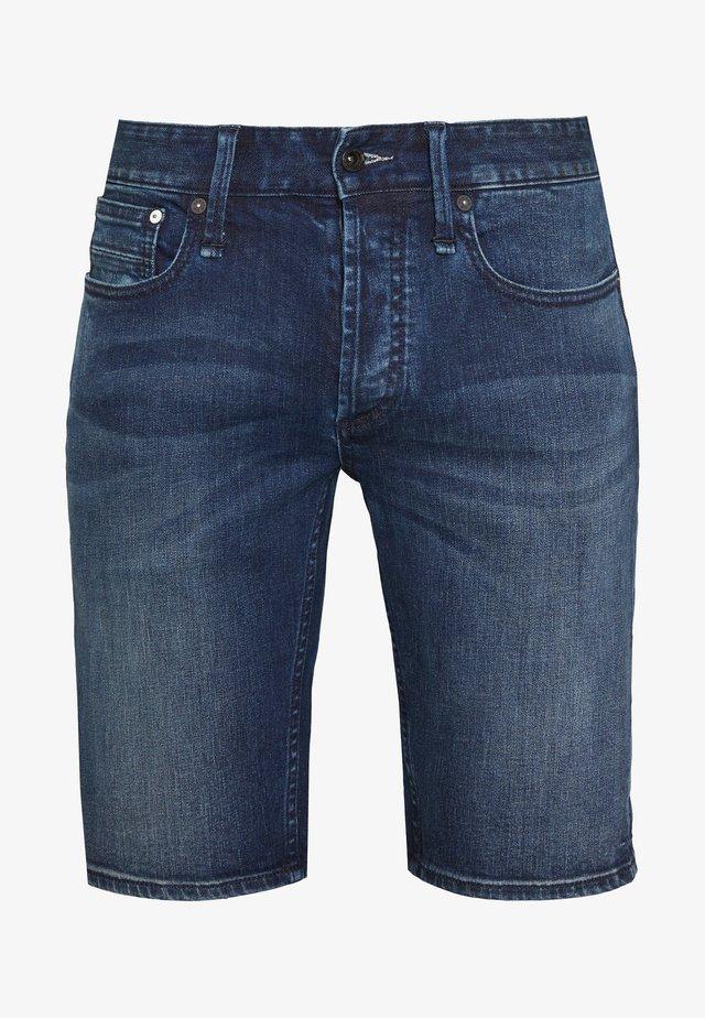 RAZOR - Szorty jeansowe - blue