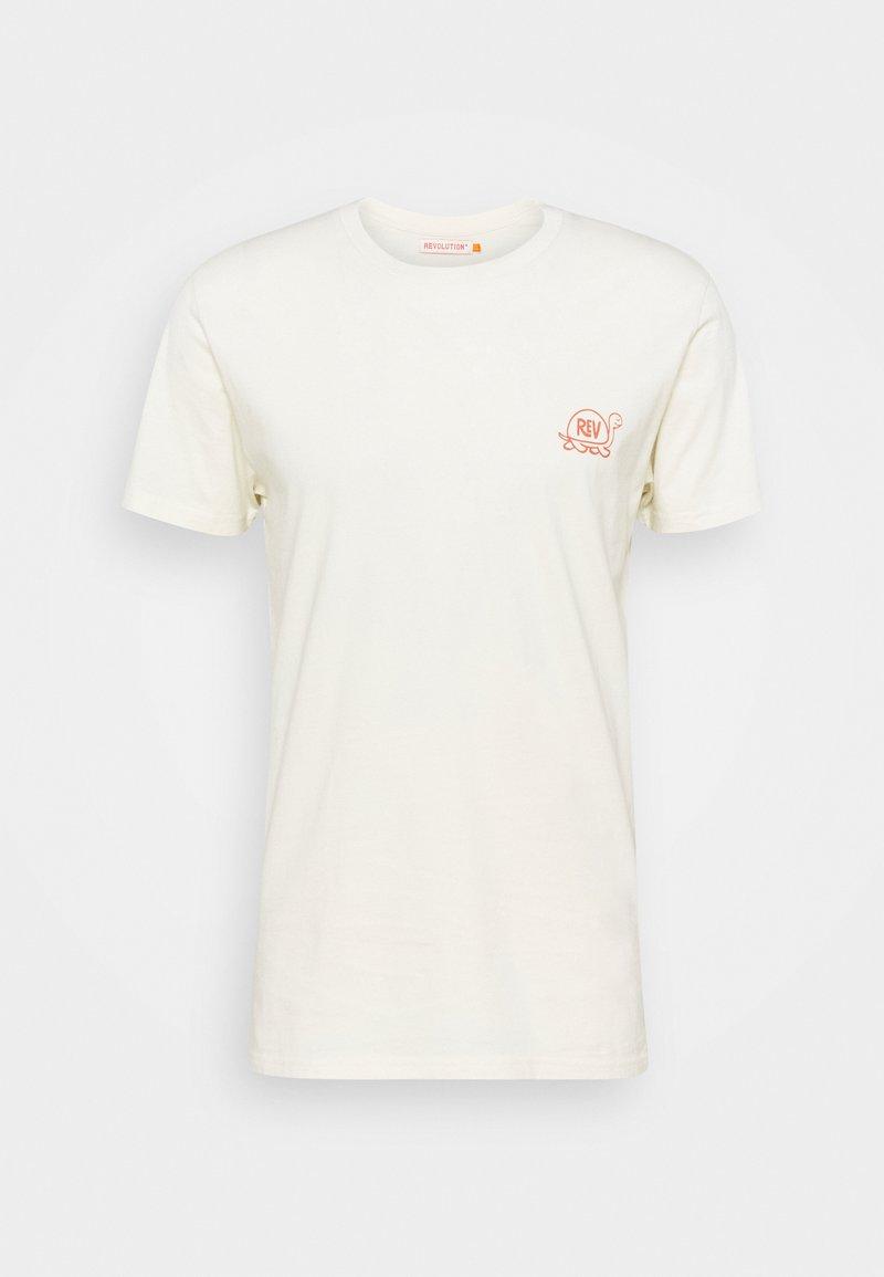 REVOLUTION - Print T-shirt - offwhite