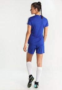Craft - PROGRESS SHORT CONTRAST - Teamwear - cobalt/ white - 2