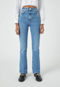 PULL&BEAR - Bootcut jeans - blue - 0