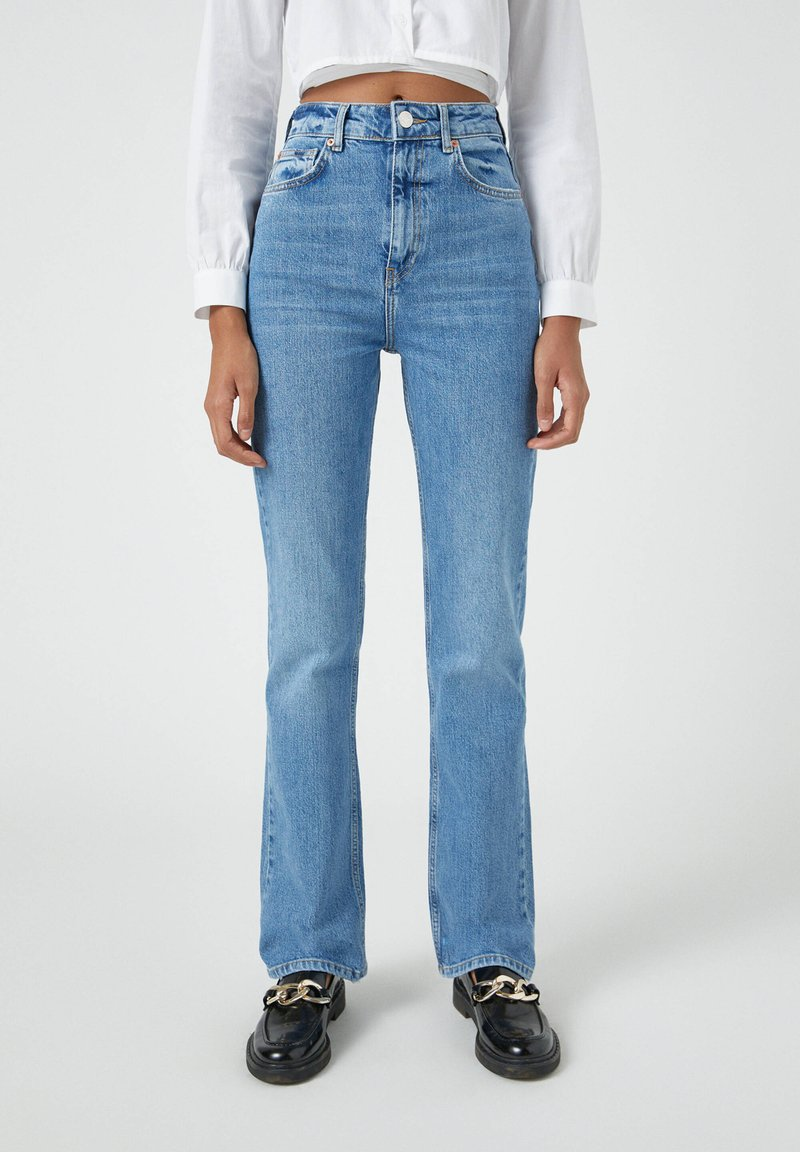 PULL&BEAR - Bootcut jeans - blue