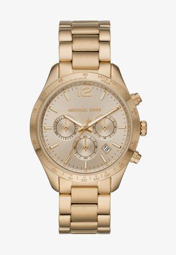 LAYTON - Chronograph watch - gold-coloured