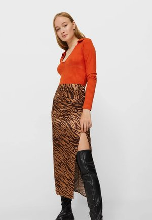 Maxi skirt - brown