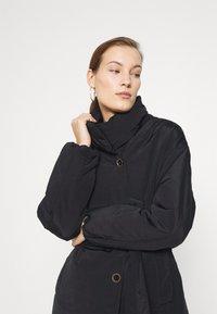 Mos Mosh - NELL PUFF COAT - Classic coat - black - 3