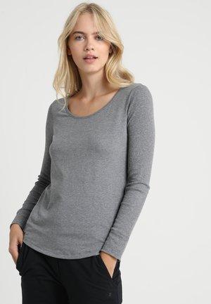 CREW NECK - Pyžamový top - grau melange