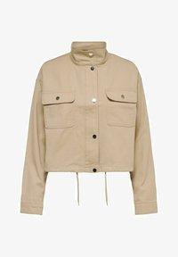 JDY - Summer jacket - beige, off-white, transparent - 5