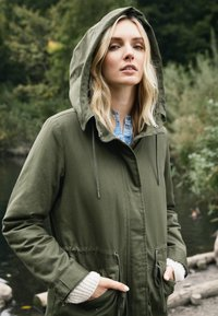 TOM TAILOR - AUTHENTIC WINTER - Parka - olive night green - 4