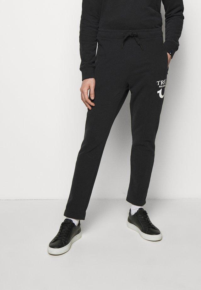 PANT HORSESHOE PUFFY  - Teplákové kalhoty - black
