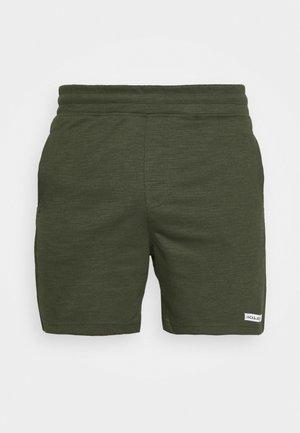 JJIZSWEAT SHORT  - Sports shorts - forest night