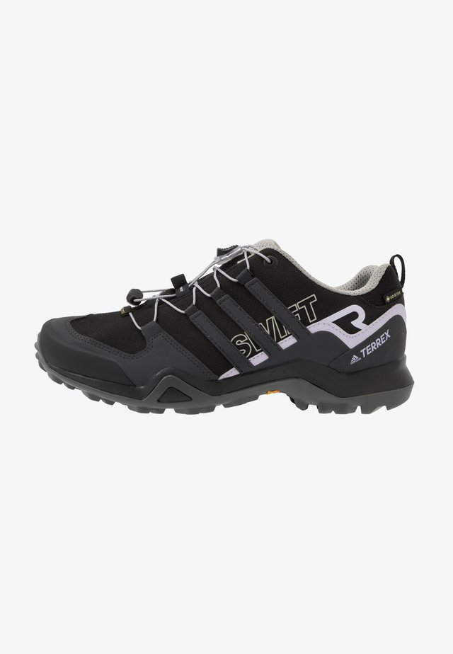 TERREX SWIFT R2 GORE-TEX - Scarpa da hiking - core black/solid grey/purple tint