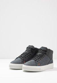 HUB - MURRAYFIELD - Sneakers hoog - washed navy/dust - 2